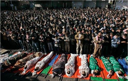 Le jour 12 de l'offensive israelienne à Gaza