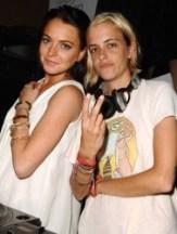 Lindsay Lohan & Samantha Ronson