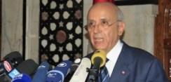 Mr Mohamed Ghannouchi : ex-Premier Ministre tunisien