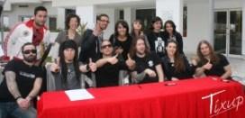 Amaranthe et ses fans - ©Tixup.com