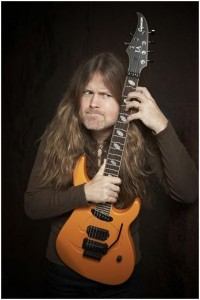 Mattias IA Eklundh : Guitariste du groupe Freak Kitchen