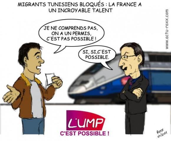 Des migrants légaux bloqués par la France