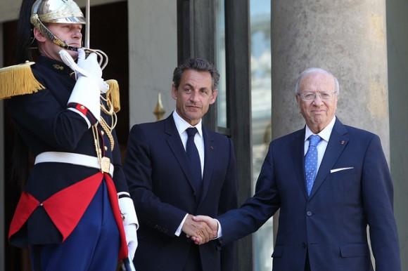 Nicolas Sarkozy & Béji Caïd Essebsi