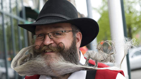 Elmar Weisser - Champion du monde de Barbe et Moustache