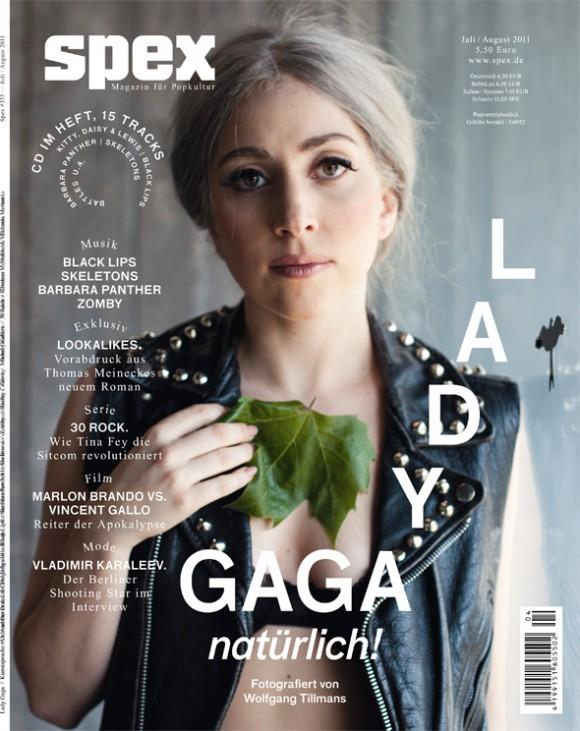 Lady Gaga en look naturel sans maquillage