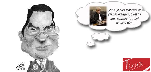 L'avocat de Ben Ali dément que son client ait de l'argent à l'étranger