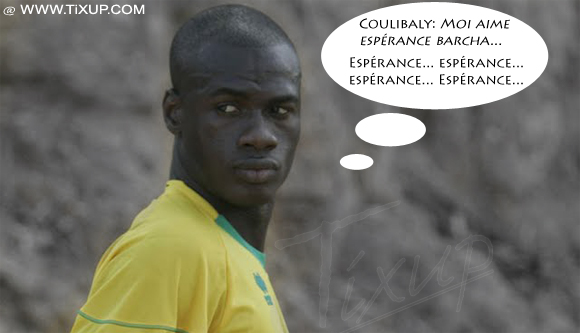 Coulibaly ne portera pas le maillot du Club Africain