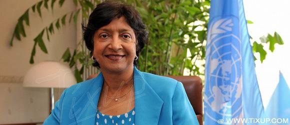 Navy Pillay : Haut commissaire des Nations Unies aux droits de l'Homme