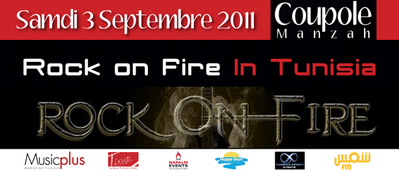 Rock On Fire in Tunisia
