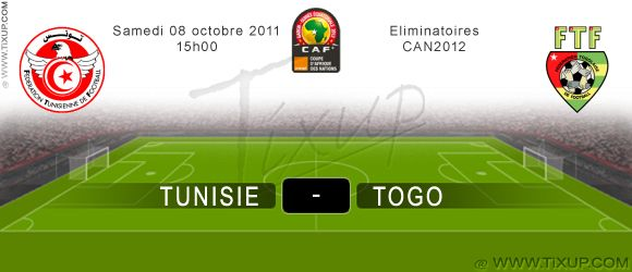 Tunisie Vs Togo - Éliminatoires CAN 2012