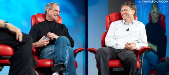 Steve Jobs - Bill Gates