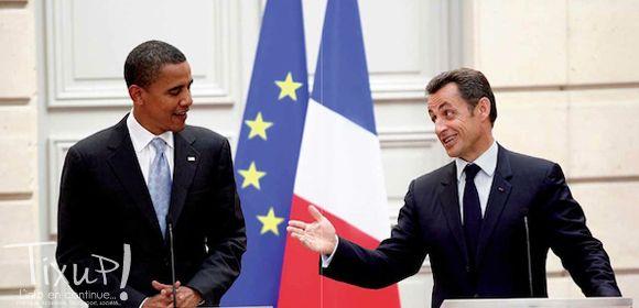 Barack Obama - Nicolas Sarkozy