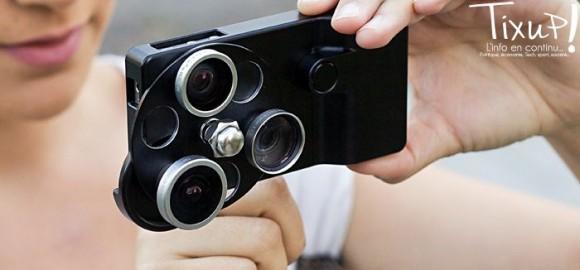 Lens Dial pour iPhone 4(S)