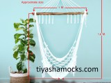 Pausa Hanging chair – White