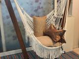 La Bonita – Hanging chair set – White