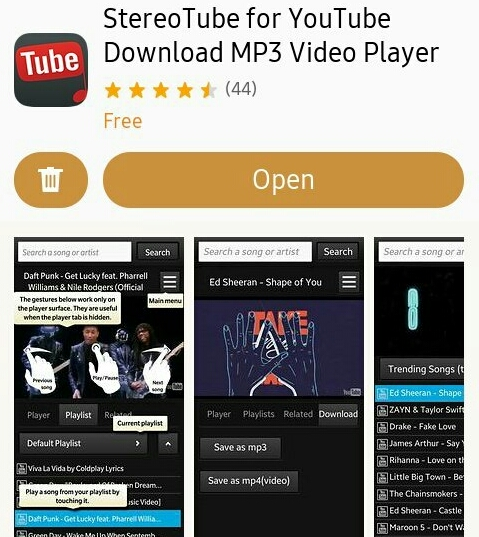 YouTube Downloader App StereoTube Available In Tizen Store - TizenHelp