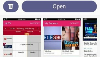 Download Jio Music, Jio Cinema And Jio Express News On Samsung Z2