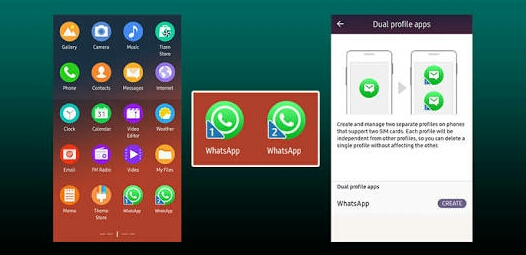 samsung z2 whatsapp apps download