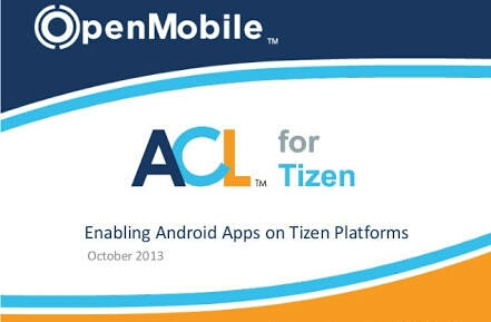 Enable ACL For Tizen