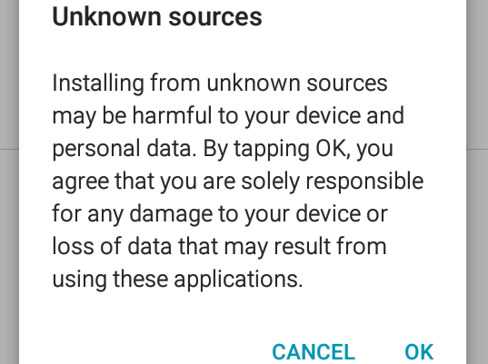 Why You Can't Install Apps From Unknown Sources - TizenHelp