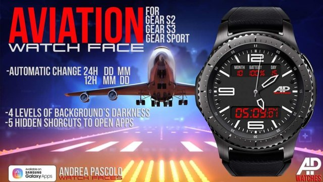 Aviation Watch Face