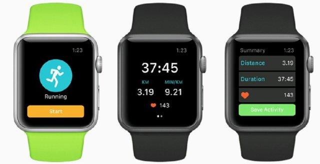 Runkeeper on Apple Watch