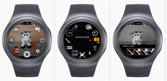 Galaxy Watch Camera Apps