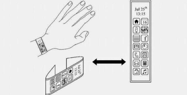 Samsung Flexible Smartwatch
