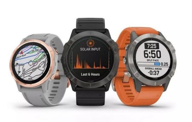 Garmin Fenix 6 series smartwatches