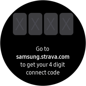 Strava App Galaxy Watch