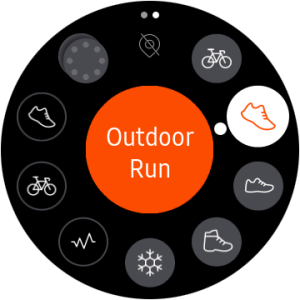 Strava on Galaxy Watch