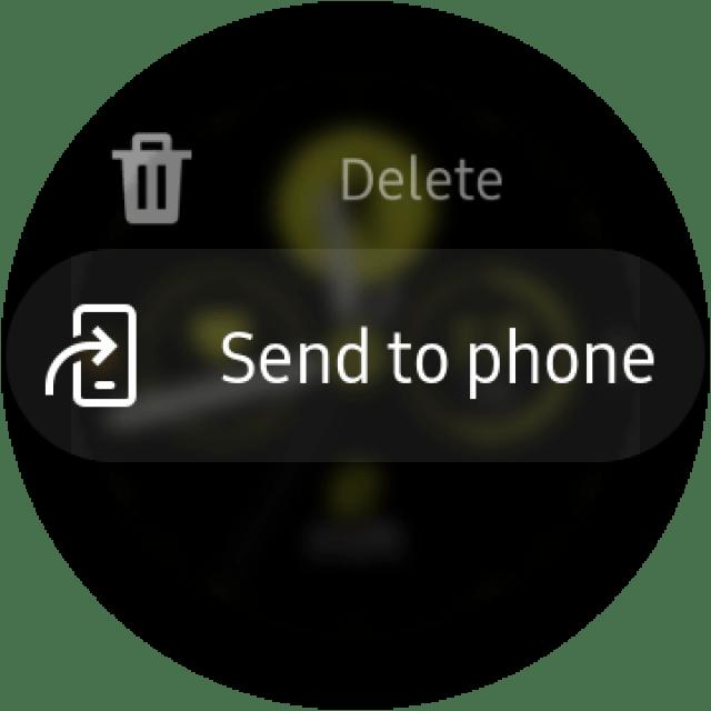 Galaxy Watch Active 2 Screenshot