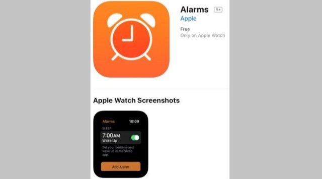 Sleep app Apple Watch