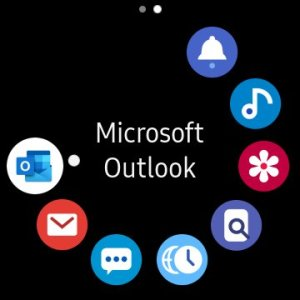 Outlook on Galaxy Watch