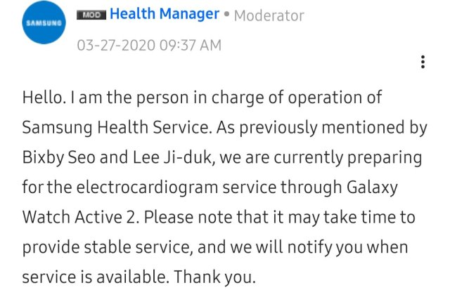 Galaxy Watch Active 2 News
