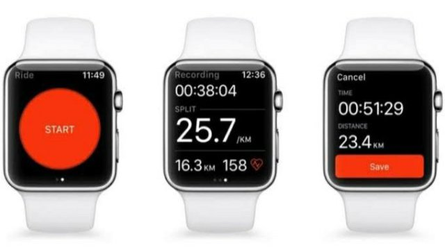Strava on Apple Watch