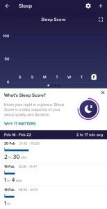 Sleep Tracking Charge 4
