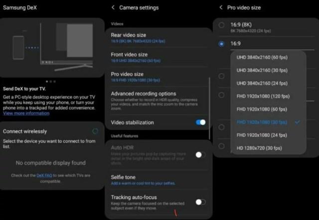 Galaxy S20 One UI 2.5 Update