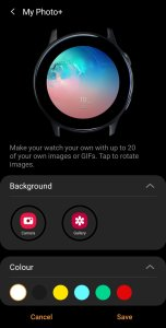 Galaxy Watch 3 Watch Faces