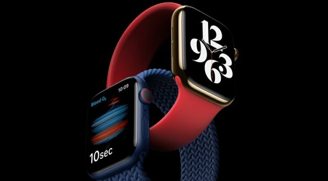 SpO2 on Apple Watch Series 6