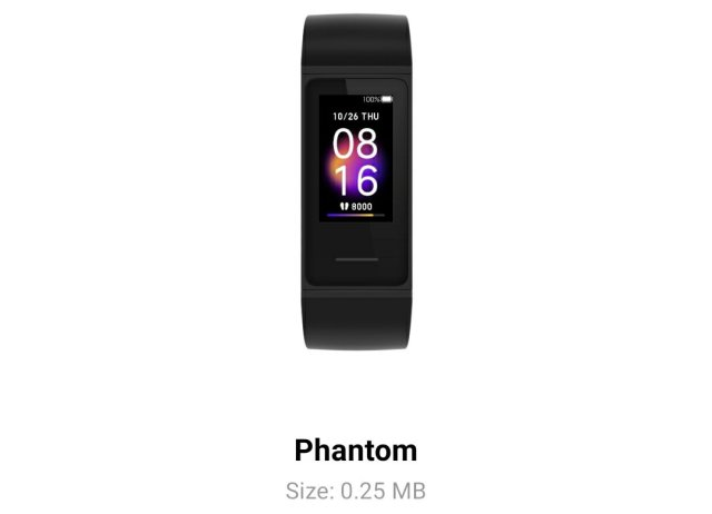 Best Redmi Band Watch Faces