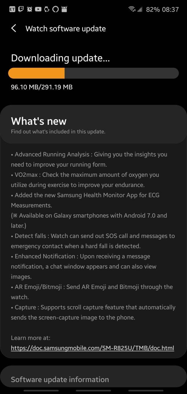 Galaxy Watch 3 ECG Update