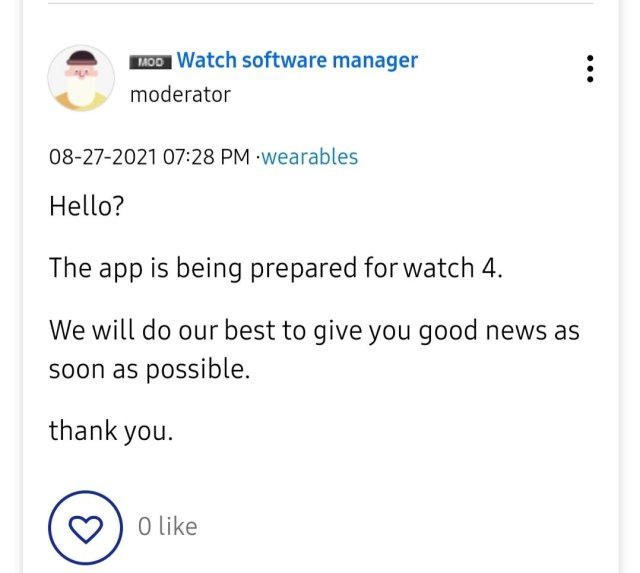 Samsung Browser on Galaxy Watch 4