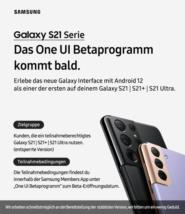 Android 12 Beta Update