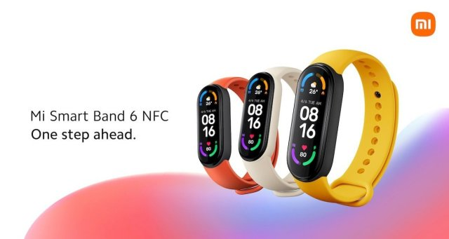 Mi Smart Band 6 NFC in Europe