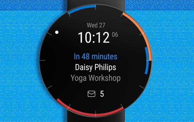 Outlook on Galaxy Watch 4