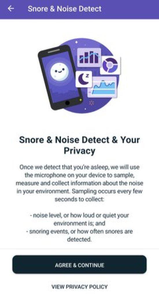 Snore & Noise Detection on Fitbit Sense