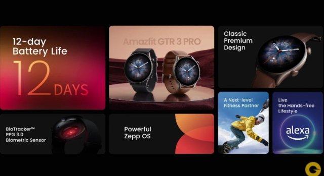 Amazfit GTR 3 Pro Launched