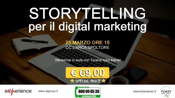 Storytelling per il digital marketing