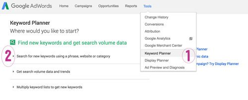 how to use adwords keyword tools to validate your product idea and know if your products will sell